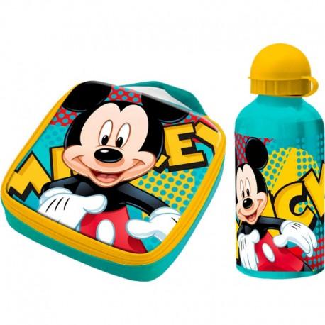Termo taška / box na desiatu + ALU fľaša 400ml MICKEY MOUSE