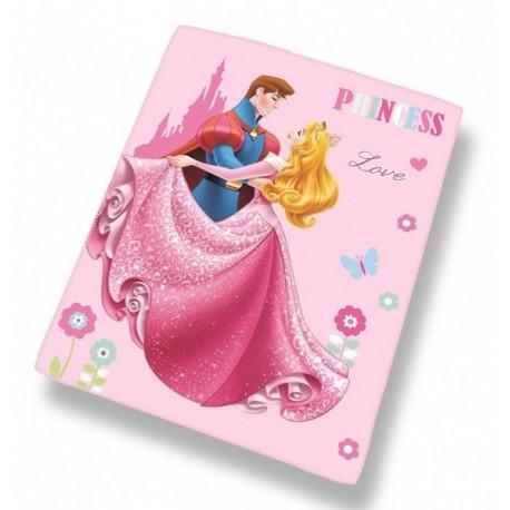 CTI Detská flísová deka DISNEY PRINCESS Love 110 x 140cm (3598)
