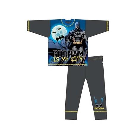 Chlapčenské bavlnené pyžamo BATMAN MyCity - 10 rokov (140cm)