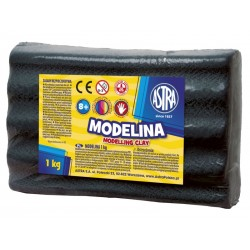 ASTRA Modelovacia hmota do rúry MODELINA 1kg čierna (304111007)