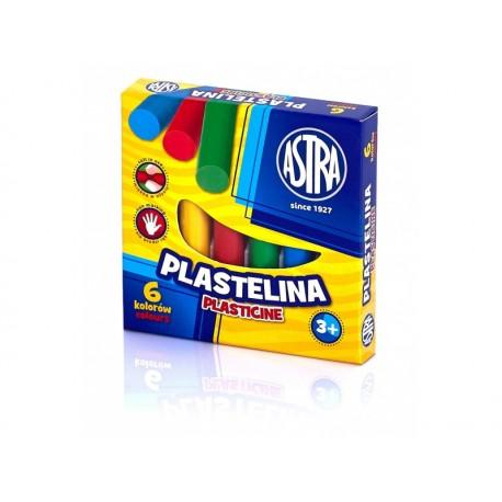 ASTRA Plastelína základná 6 farieb, 83811905