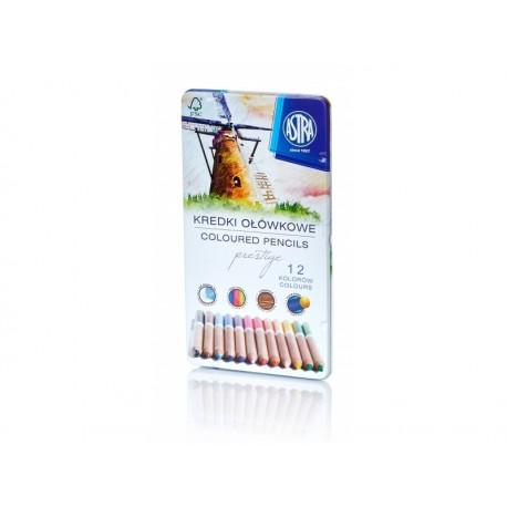 ASTRA Umelecké farbičky PRESTIGE z cédrového dreva 12ks, 312117001