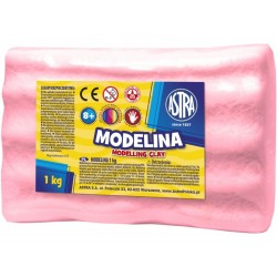 ASTRA Modelovacia hmota do rúry MODELINA 1kg malinová (304118002)