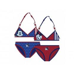 Dievčenské dvojdielne plavky MICKEY Červené (0292)