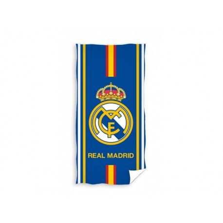 CARBOTEX Bavlnená osuška 75/150cm REAL MADRID Blue CARBOTEX REA1313x