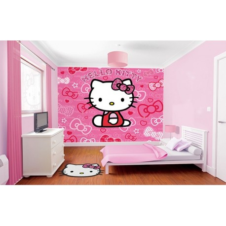 WALLTASTIC®  Fototapeta 243 x 304cm HELLO KITTY WALLTASTIC® HKI0590