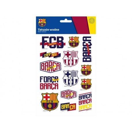 Tetovačky FC BARCELONA, 14ks, FC-203 ASTRA BRC1439x