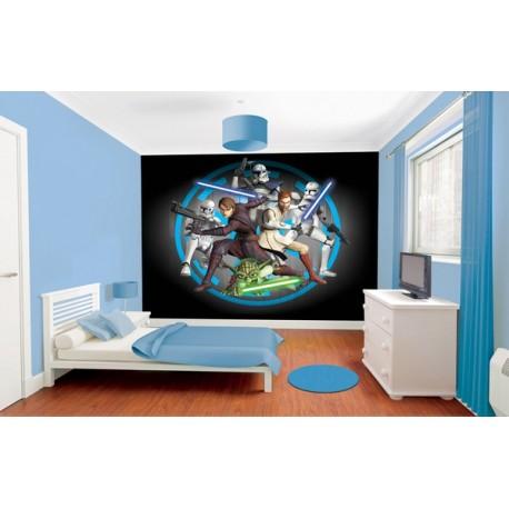 WALLTASTIC®  Fototapeta 243 x 304cm STAR WARS WALLTASTIC® STA1590