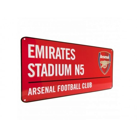 Plechová tabuľa 40/18cm ARSENAL Red FOREVER COLLECTIBLES ARS1710