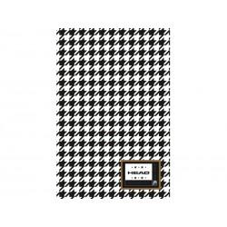 Poznámkový blok B5 HEAD Cross, HD-163,160 listov, štvorčekový (5x5mm)