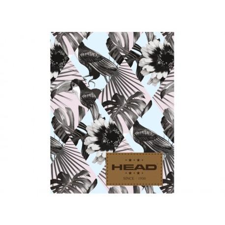 Zošit A5 HEAD Birds, HD-175, 60 listov, štvorčekový (5x5mm), 565 HEAD AST2798