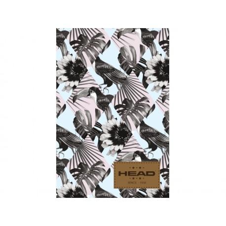 Poznámkový blok B5 HEAD Birds, HD-165,160 listov, štvorčekový (5x5mm) HEAD AST2797