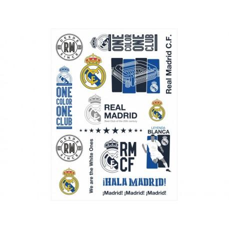 Tetovačky REAL MADRID, 14ks, RM-111, 708017007 ASTRA REA1358x