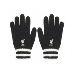 Úpletové rukavice FC LIVERPOOL Black