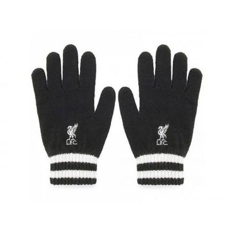 Úpletové rukavice FC LIVERPOOL Black FOREVER COLLECTIBLES LIV1564