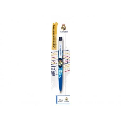 Guľôčkové pero 0,7mm REAL MADRID C.F., modré, blister, 201018002 ASTRA REA1389x