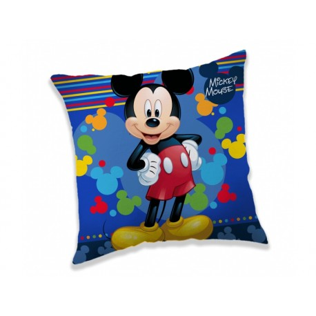 JERRY FABRIC Obliečka na vankúšik 40/40cm MICKEY MOUSE Blue