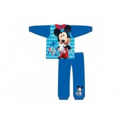 Chlapčenské bavlnené pyžamo MICKEY MOUSE Blue