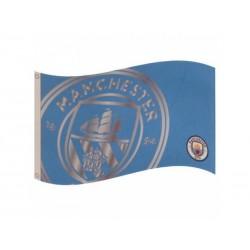 Klubová vlajka 152/91cm MANCHESTER CITY Team React