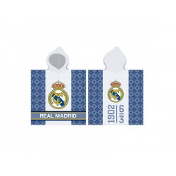 CARBOTEX Bavlnené pončo 60/120cm REAL MADRID