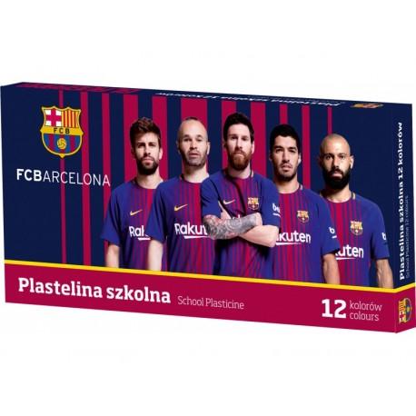 ASTRA Školská plastelína FC BARCELONA FC-216, 12 farieb, 303218005 ASTRA BRC1546x