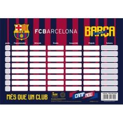 Rozvrh hodín / Timetable FC BARCELONA, 708018003