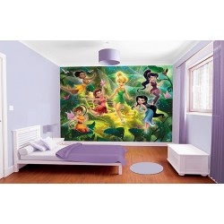 WALLTASTIC®  Fototapeta 243 x 304cm DISNEY FAIRIES