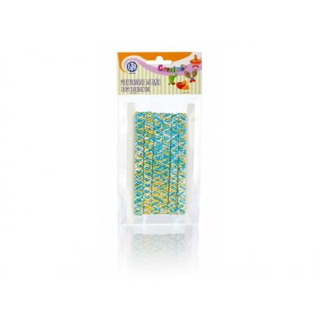 CREATIVO Dekoračná páska MEXICO, 10mm x 2m, mix farieb, 335119023 ASTRA AST2673