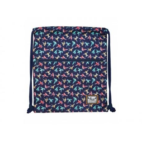 HASH® Luxusné vrecúško / taška na chrbát Tiny Bird, HS-185, 507019028