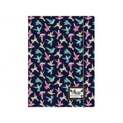 Box na spisy s gumičkou papierový A4 HASH® Tiny Bird, HS-145