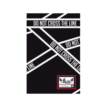 HASH® Poznámkový blok B5 Cross Line, HS-150, 160 listov, štvorčekový (5x5mm), 101019011 HASH® HAS1988