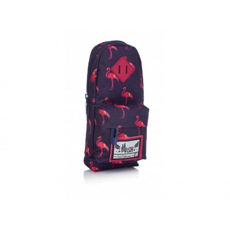 Jednokomorový peračník / puzdro HASH® Dark Flamingo, HS-88, 505019057 HASH® HAS0959