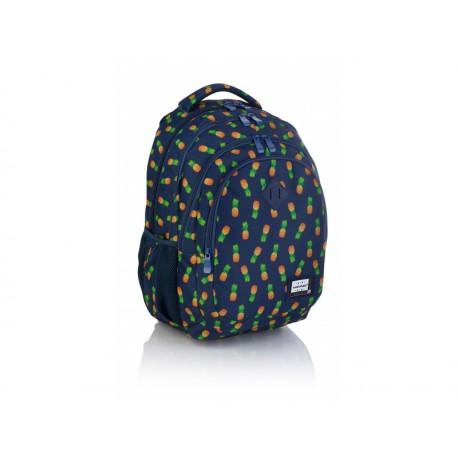 HEAD Študentský / školský batoh Blue Pineapple, HD-252, 502019030