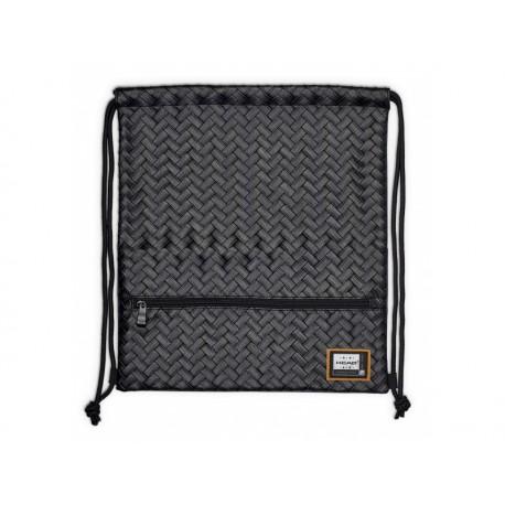 Luxusné koženkové vrecúško / taška na chrbát HEAD Black, HD-350 HEAD HAS0902