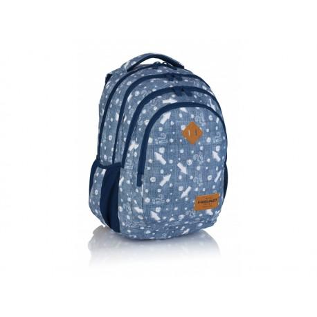 HEAD Študentský / školský batoh Denim Arrow, HD-345, 502019082 HEAD AST0888
