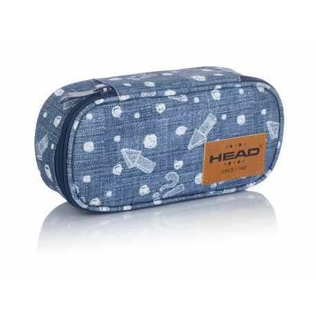 Jednokomorový peračník / puzdro HEAD Denim Arrow, HD-346 HEAD AST0886