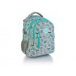 Študentský / školský batoh 38cm HEAD Origami, HD-239