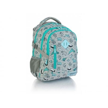 HEAD Školský batoh 38cm Origami, HD-239, 24L, 502019024 HEAD AST2645