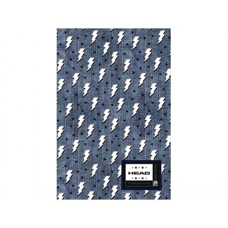 Poznámkový blok B5 HEAD Denim Flash, HD-374,160 listov, štvorčekový (5x5mm) HEAD AST0878