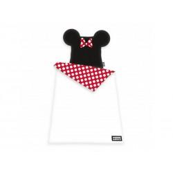 HERDING Luxusné 3D obojstranné bavlnené obliečky MINNIE MOUSE, 140/200+70/90