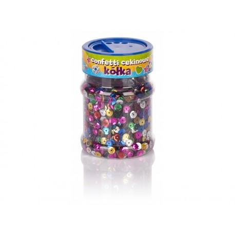 CREATIVO Dekoračné konfety KRÚŽKY Metalic 100g. 335114005 ASTRA AST2308