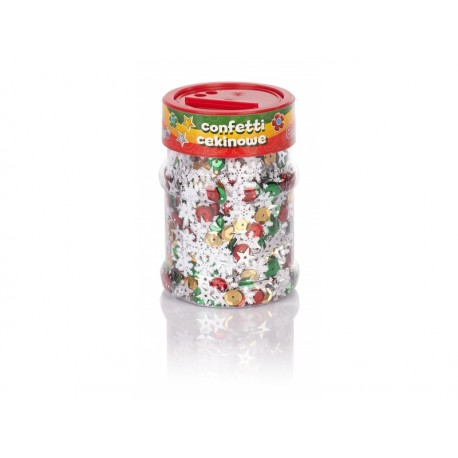 CREATIVO Dekoračné konfety VIANOCE Mix 100g , 335116004 ASTRA AST2311
