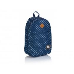 Jednokomorový študentský / športový batoh HEAD Denim Blue, HD-361