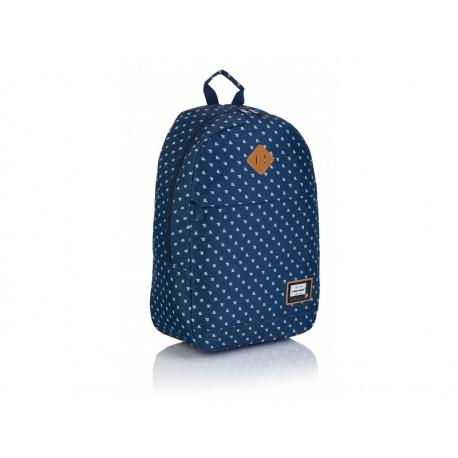 HEAD Jednokomorový študentský / športový batoh Denim Blue, HD-361, 502019092