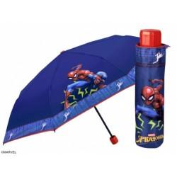 PERLETTI® Detský skladací dáždnik SPIDERMAN
