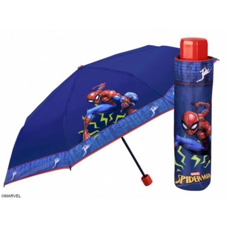 PERLETTI® Detský skladací dáždnik SPIDERMAN PERLETTI® SPI1488