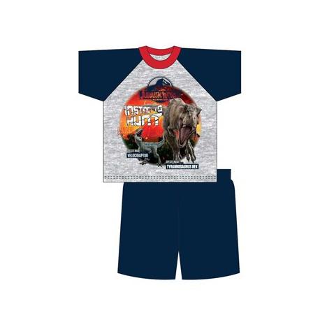 Chlapčenské bavlnené krátke pyžamo JURASSIC WORLD,    TDP Textiles DIN1992|5