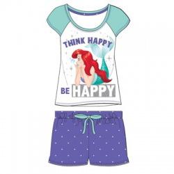 Dámske krátke bavlnené pyžamo LITTLE MERMAID Happy