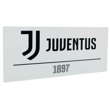 Plechová tabuľa 40/18cm JUVENTUS White FOREVER COLLECTIBLES JUV1669