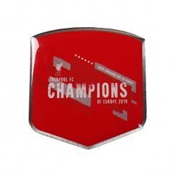 Klubový odznak na sako FC LIVERPOOL Champions of Europe 2019